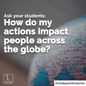 How do my actions impact people across the globe?