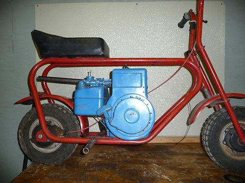5HP Briggs Flathead Mini Bike Pipe