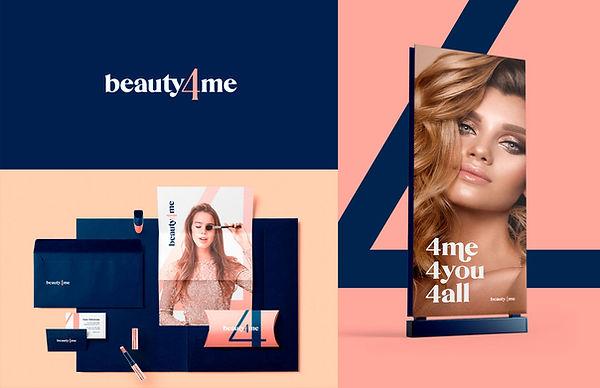 Marca Beauty4me e aplicações