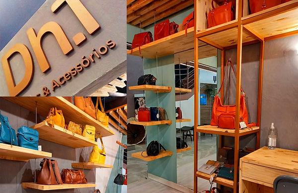 Imagens do projeto de ambientação loja Dh.T