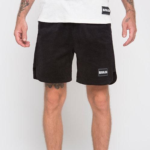 Velvet black shorta