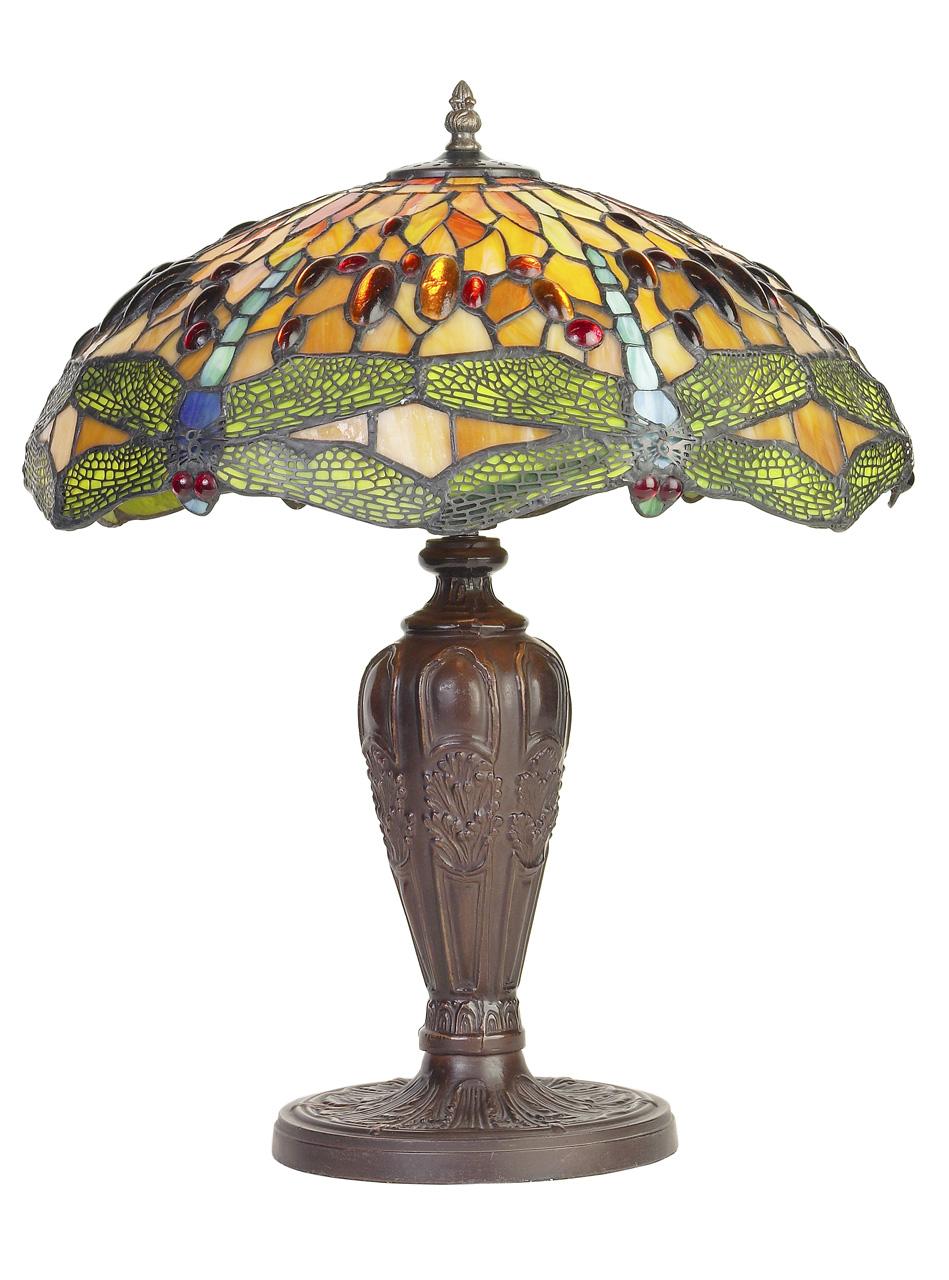 Lampes et pates de verre