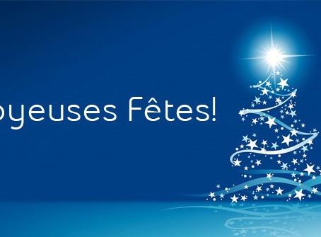 Excellentes Fêtes de Fin d'Année !!!