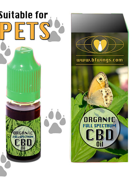CBD oil for pets 2% – 10ml – 200mg