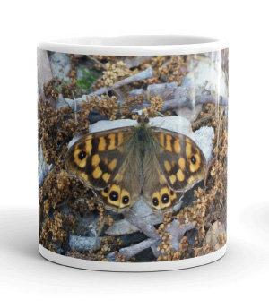 Four seasons white gloss 11oz mug WINTER