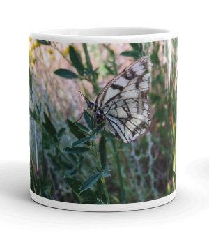 Four seasons white gloss 11oz mug AUTUMN