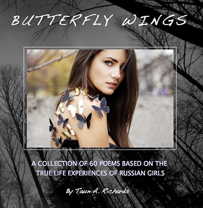 Butterfly Wings the book by Taun Richards