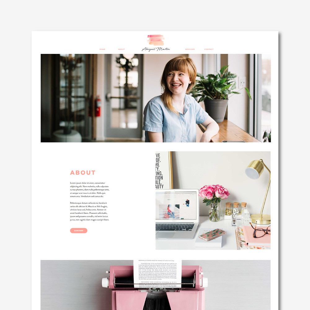 Christy Evans Design - Writer, Copywriter, Virtual Assistant Wix Website
