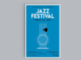 Christy Evans Design - Print Media - UTA Jazz Festival Poster