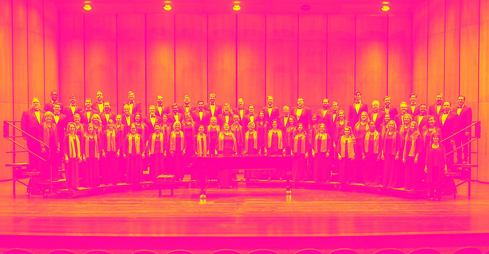 Group photo of the Fort Worth Chorale