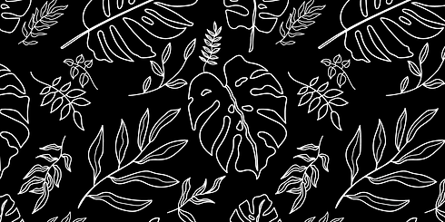 botanical-line-drawing-black-background.