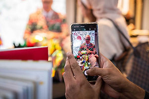 mobile-camera-capturing-publicity-event-