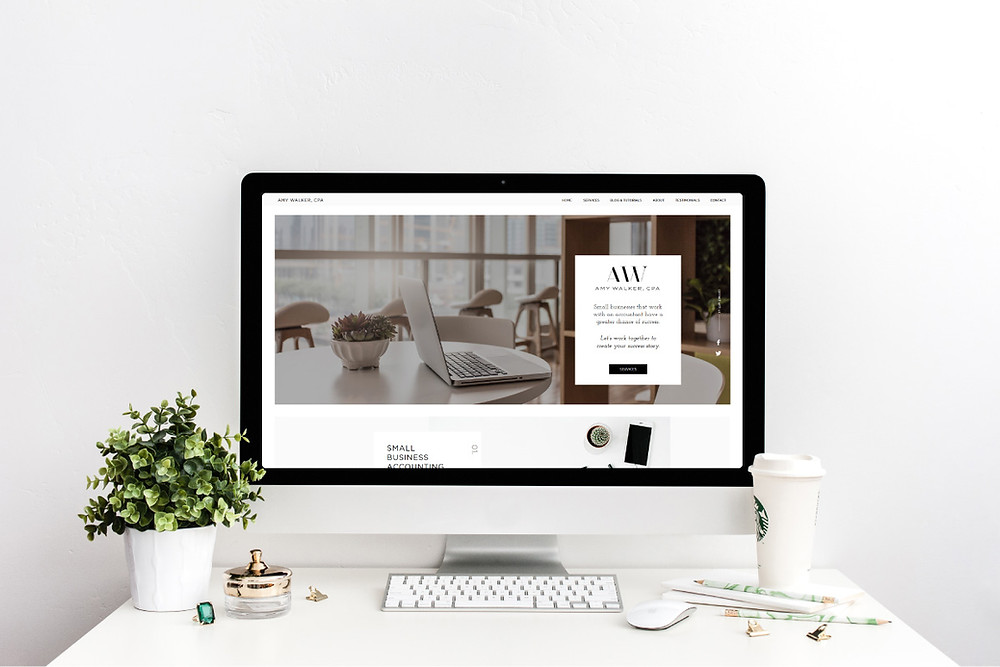 Christy Evans Design - Wix website - Arlington, TX - Wix accounting website