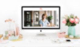 Christy Evans Design - Wix Website - Virtual Assistant Website
