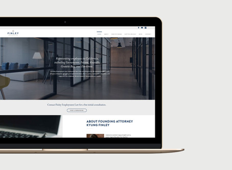 Site Redesign: Finley Employment Law