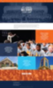 Christy Evans Design - Wix Website - All-State Chor Camp