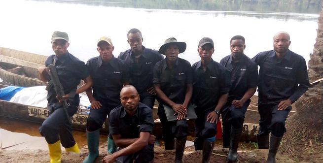 ICCN-eco-guard-team-at-elonda-Lola-ya-Bo