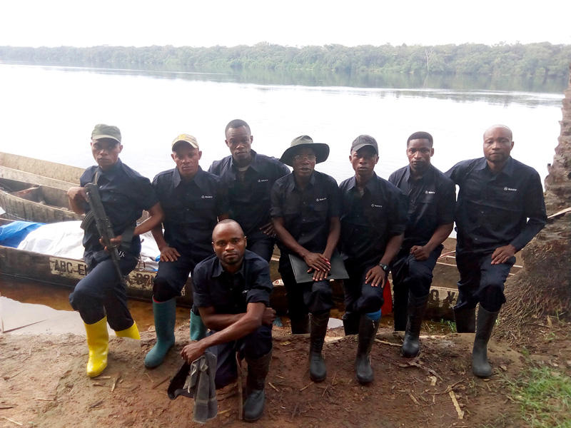 ICCN-eco-guard-team-at-elonda-Lola-ya-Bo