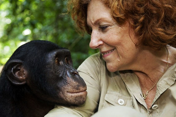 claudine-andre-founder-smiling-at-bonobo