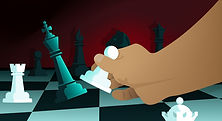 graphic-of-hand-moving-a-chess-piece-on-