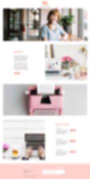 Christy Evans Design - Wix Desgn - Virtual Assistant Website