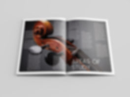 Christy Evans Design - Print Media - UTA Music Brochure