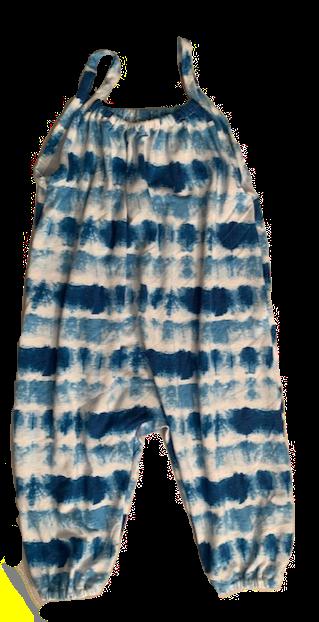Island Tie Dye Bubble Romper