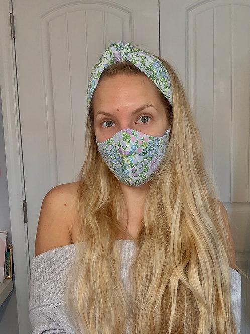 Spring Reversible Cotton Face Mask