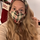 Thumbnail: Holiday woven printed mask - all sizes available
