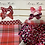 Thumbnail: Printed baby bow on soft headband
