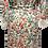 Thumbnail: Floral haven Ember wrap robe