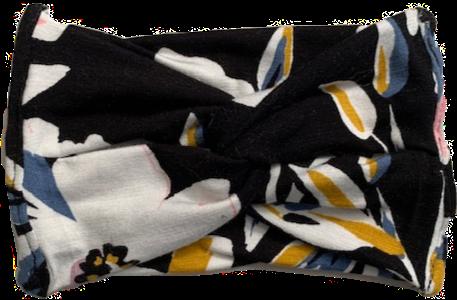 Midnight Floral Baby Knit Headband