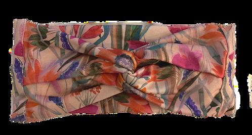 Daisy Punch Knit Headband