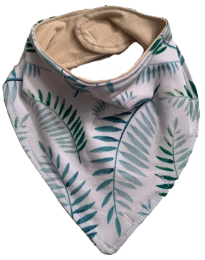 Boho Jungle Drool Bib
