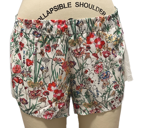 """Amelia Lace Short in """"Floral Haven"""""""