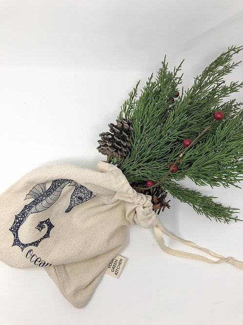Seahorse reusable produce bag