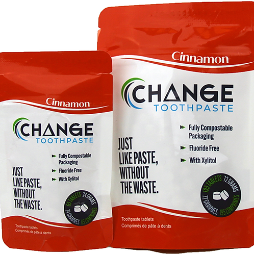 1 month Cinnamon Change Toothpaste Tablets