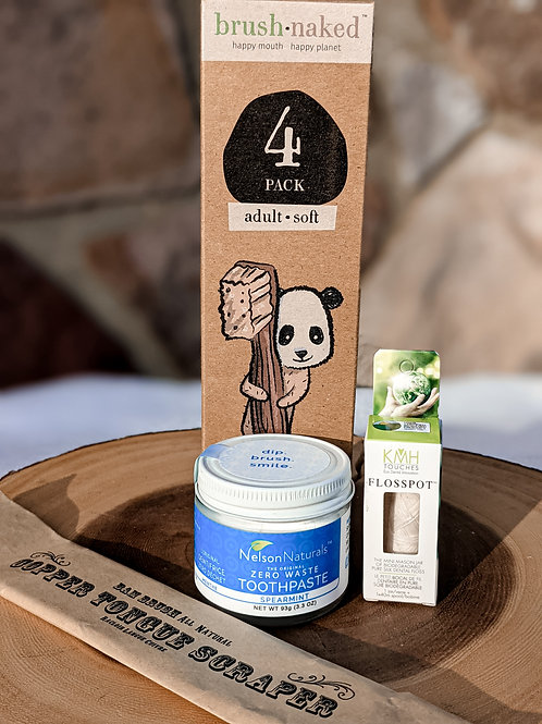 Oral Care Gift Set - plastic free