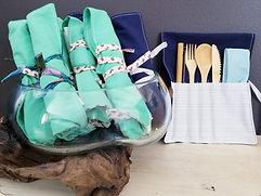 Bamboo Cutlery Roll Ups