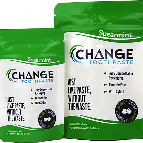 Change Toothpaste Spearmint