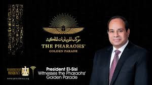 The Pharaohs' Golden Parade