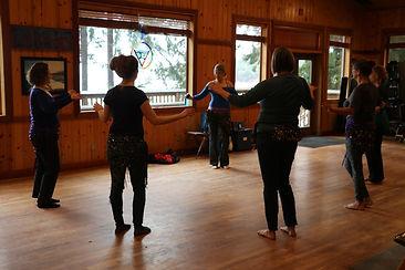 Belly Dance class with Zulaika