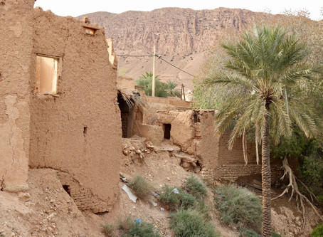 A mosque, a mud brick village, and a Roman bridge...