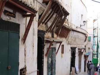 Visiting the Casbah of Algiers