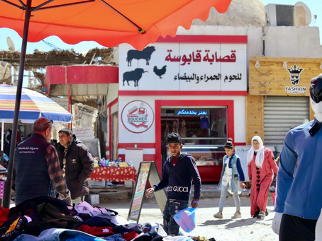 Adventures in the market of El Oued