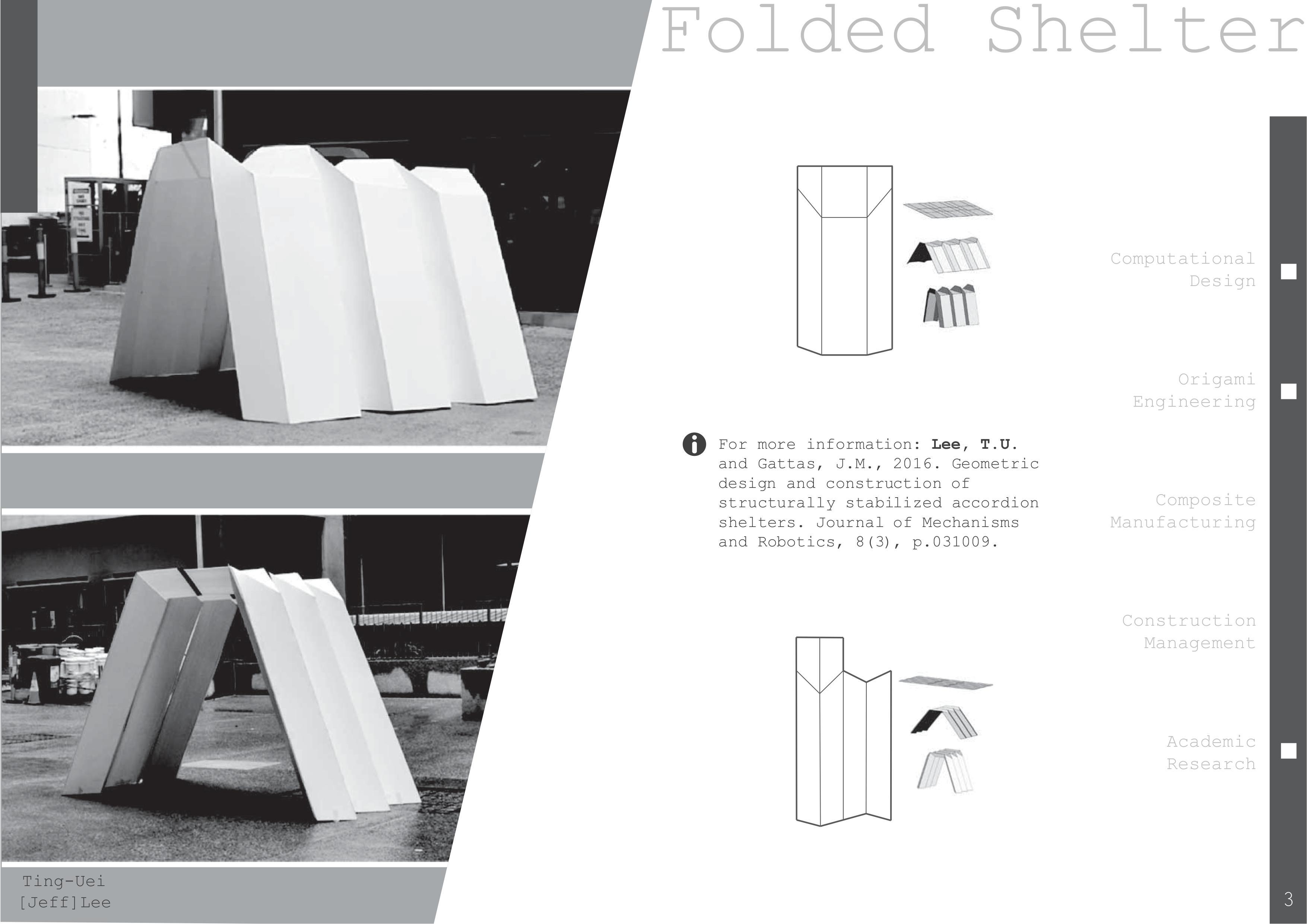 Folded Shelter