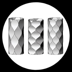 [2018] Elastic buckling shape control of thin-walled cylinder using pre-embedded curved-crease origami patterns.