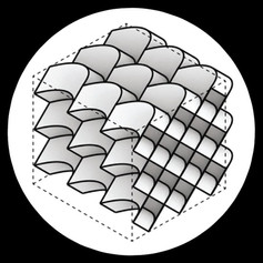 [2021] Compliant curved-crease origami-inspired metamaterials with a programmable force-displacement response.