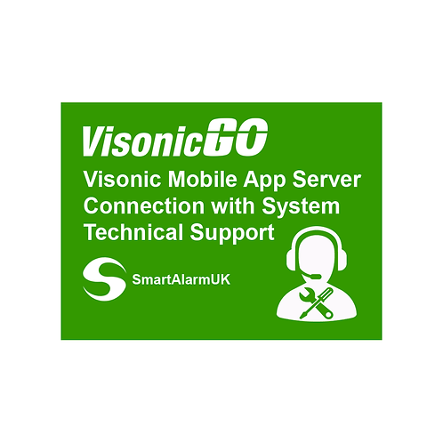 Visonic Mobile App Server Connection with System Technical Support (1 Year)