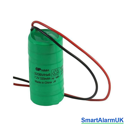 7.2 v 320mAh NiMh External Alarm Bell Box Battery
